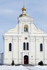 В Белоруссии мужской монастырь закрыли на карантин после его посещения  Лукашенко