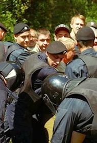В Крыму сотрудники ДПС не допускают проезд  в лесополосы. Территории прочесывает ППС.