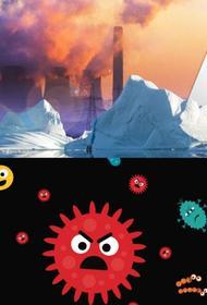 Глобальное потепление может привести к появлению неизвестных науке вирусов