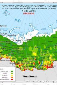 За неделю в 38 регионах России потушено 717 лесных пожаров