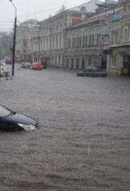Центр Нижнего Новгорода оказался затоплен