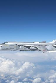 Опубликовано видео из кабины истребителя Су-24 во время авиапарада