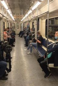 Дептранс: Утром 15 мая 99% пассажиров метро надели медицинские маски