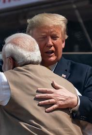 Премьер Индии выразил Трампу благодарность за помощь в борьбе с COVID-19