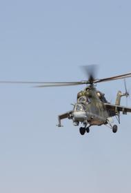 Минобороны сообщило о гибели экипажа вертолета Ми-8 при жесткой посадке в Подмосковье под Клином