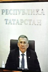 Путин похвалил работу Минниханова и пообещал поддержать его на выборах главы Татарстана