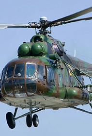 Названа возможная причина крушения военного вертолета в Подмосковье
