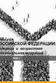 Исследование населения РФ: численность, гендерная и возрастная структура, межрегиональная миграция