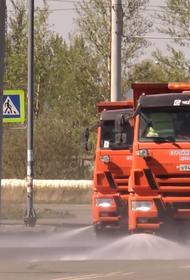Челябинский водитель рассказал, зачем мыть дороги в дождь