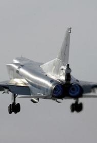 Опубликовано видео полета бомбардировщиков Ту-22М3 над Черным морем