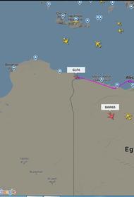 Радары снова засекли в Ливии подозрительный самолет