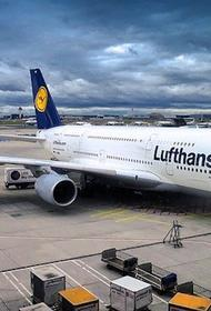 Власти Германии выделили €9 млрд помощи компании Lufthansa