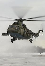 Военный вертолет Ми-8 совершил жесткую посадку на Чукотке, экипаж погиб
