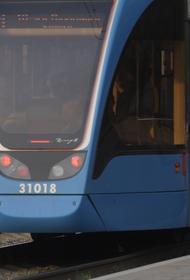 Трамвай сошел с рельсов на востоке Москвы