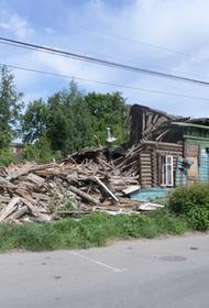 В Рязани в год 75-летия Победы сносят дом, в котором жил поэт Константин Симонов