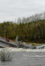 В Мурманской области обрушилась часть железнодорожного моста