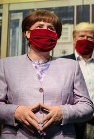 Меркель разругалась с Трампом