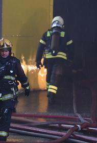 Два человека погибли в ходе пожара в подмосковном поселке Нахабино