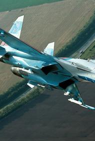 Обнародовано видео со сбросом российским Су-34 штурмовой бетонобойной бомбы