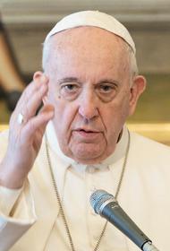 Зеленский обсудил с Папой Римским ситуацию в Донбассе