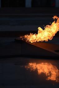 СК проверяет видео с мужчиной, лежавшим на Вечном огне