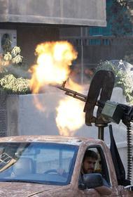 В Сирии опять стрельба  и бомбардировки
