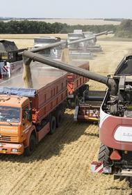 Российское зерно уходит из Америки в Китай