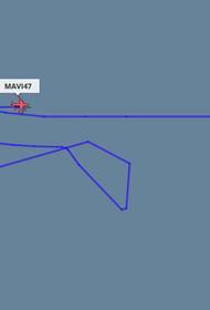 В Ливии самолёт из Турции совершил непонятные маневры