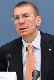 Глава МИД Латвии поздравил на русском народ России