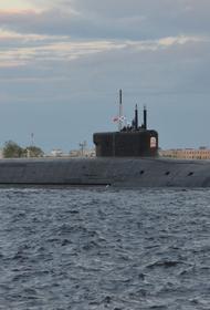 Подводный крейсер «Князь Владимир» поднял Андреевский флаг