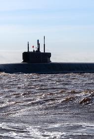 Появились кадры испытаний атомной подлодки «Князь Владимир»