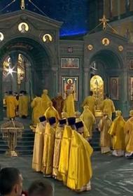 Патриарх Кирилл освящает главный храм Вооружённых сил России в подмосковной Кубинке