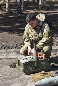 Выложено видео с места приведшего к потерям взрыва на позициях «Азова» в Донбассе
