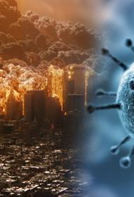 Коронавирус может быть серьёзным оружием на планете Земля