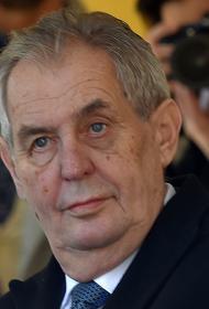 Президент Чехии не сможет приехать на парад Победы в Москву