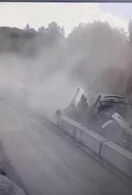 В Челябинской области задержан водитель, врезавшийся на грузовике в пять машин