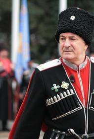 Атаман считает, что настоящий казак не мог участвовать в захвате монастыря