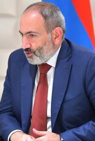 Премьер-министр Армении заявил, что президент Азербайджана «загнал себя в тупик»
