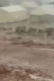 Из-за ливня в Идлиб утонули дети