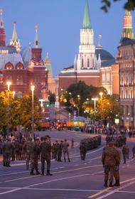 Генеральная репетиция парада Победы состоялась в Москве
