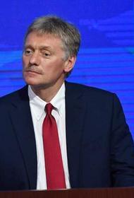 Песков не комментирует обращение Левченко к Путину по поводу выборов