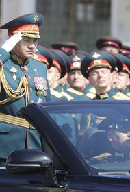 Роскосмос показал снятые с орбиты кадры парада Победы в Москве