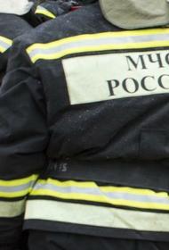 Пожар вспыхнул в кафе в центре Москвы