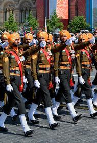 Участием в Параде Победы в Москве Индия бросила вызов Вашингтону
