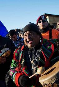 «Краснокожие» в гневе. Вслед за «чёрным расизмом» в США  могут вспыхнуть волнения индейцев