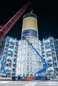 NASA разрушит кислородный бак ракеты SLS