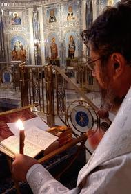 В главном храме ВС РФ прошло первое крещение