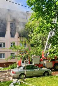 «Мосгаз»: утечка газа не могла стать причиной пожара на улице Проходчиков
