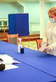 Матвиенко предлагает использовать практику многодневного голосования