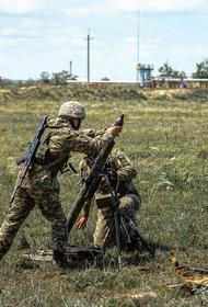 Военные ВСУ выложили видео уничтожения позиции ДНР в промышленной зоне Донбасса